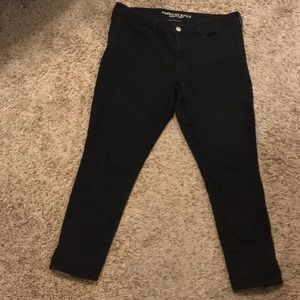 Size 18 American Eagle Black skinny jeans